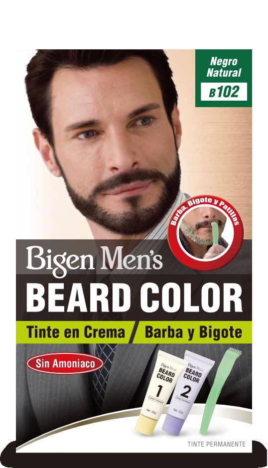 Bigen beard color