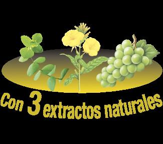 Con extractos naturales