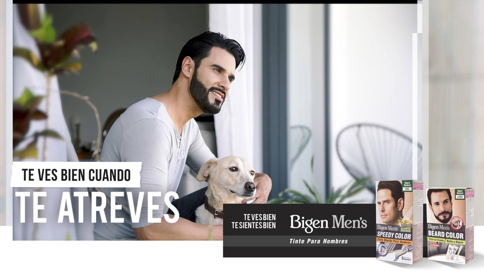 Bigen, tinte para cabello, barba y bigote
