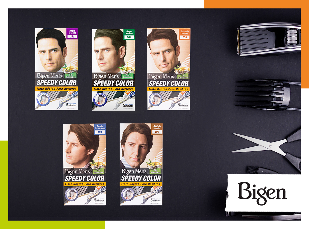 Cómo usar los tintes para cabello Bigen Men's Speedy Color