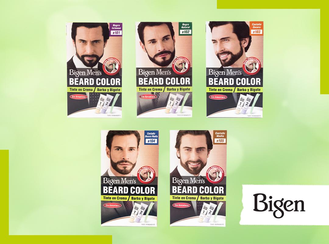 Cómo teñir y cuidar tu barba y bigote con Bigen Men's Beard Color